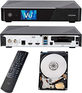 Vu Uno 4k Se 1x Dvb C Fbc Twin Tuner Pvr Ready Cable Elektronik