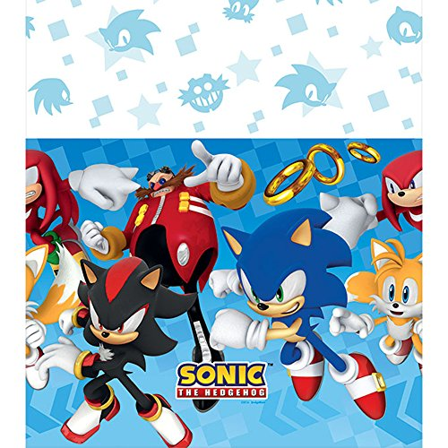Sonic the Hedgehog Plastic Tablecover (Sonic Decorations)