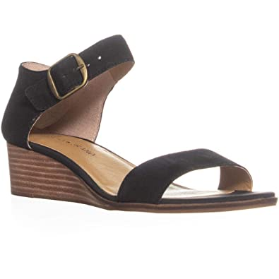 ffde0cc321 Amazon.com | Lucky Brand Women's Riamsee Wedge Sandal | Platforms ...