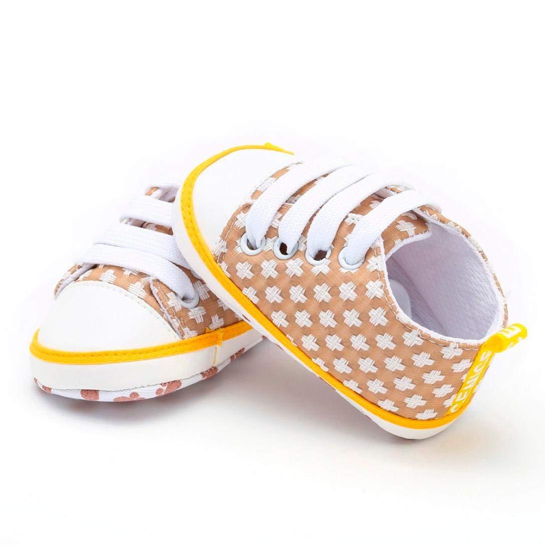 ZODOF Zapatillas de Deporte de Suela Suave Suave recién Nacido bebé niños niñas Estampado geométrico: Amazon.es: Ropa y accesorios