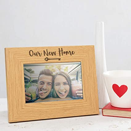 1f1c1b5e929c New Home Photo Frame Our New Home Gifts For Couple Or Friend Housewarming  Gifts For Friends Or Families New Home Present Ideas  Amazon.co.uk  Kitchen    Home