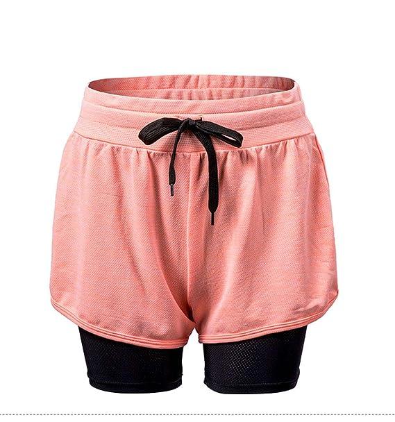 89c5229b6d070 Pantalones Yoga Mujeres Mallas Deportivas Mujer Deporte Pantalones Fitness  Mujer Gym Yoga Pantalones cortos deportivos EláSticos