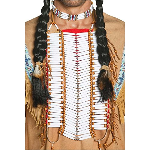 Western Authentic Indian Breastplate Costume Accessory