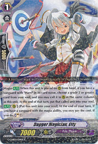 Dagger Magician, Ety - G-CHB03/019EN - R - G Character Booster 3: Rummy Labyrinth Under the Moonlight