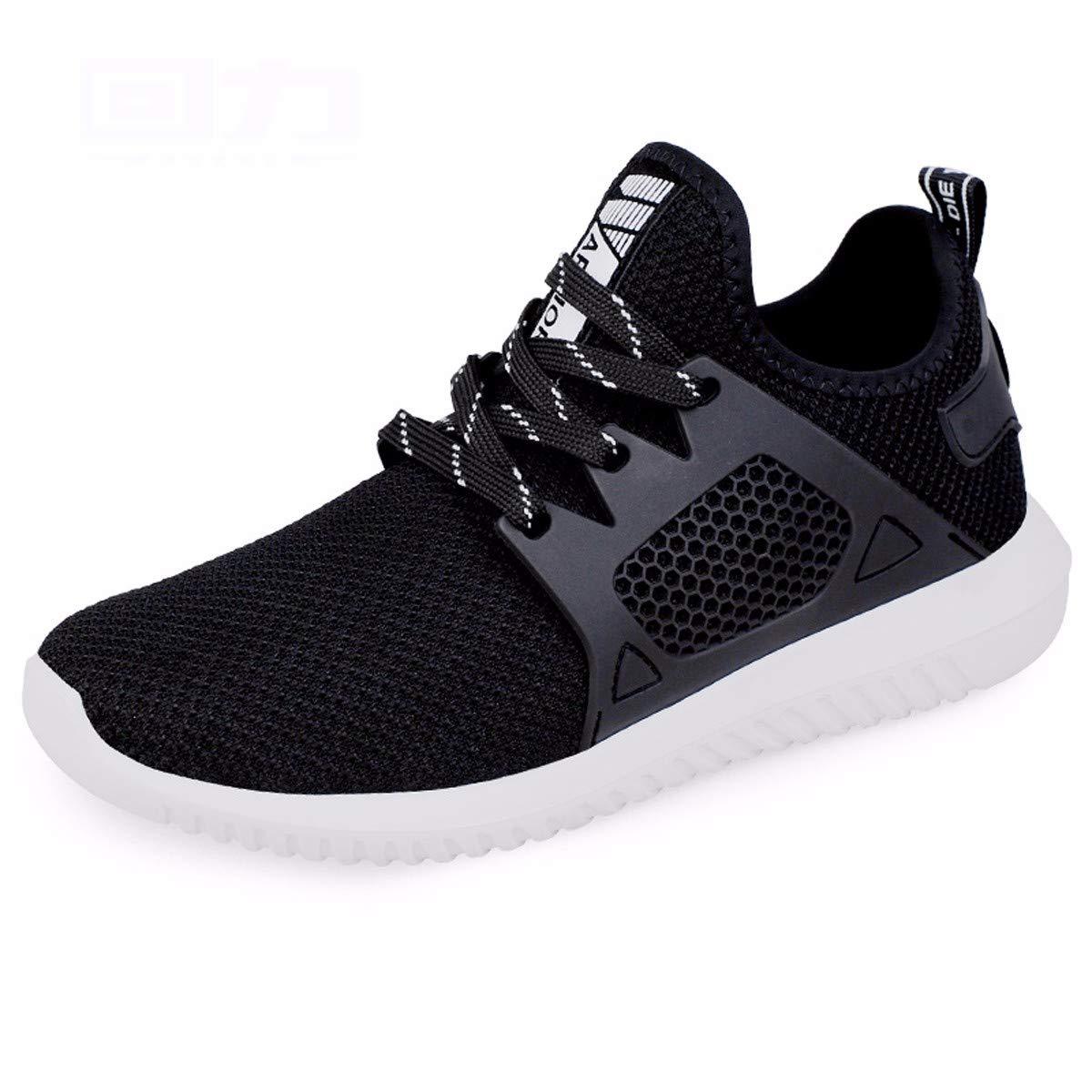 KMJBS-Männer - Schuhe Im Sommer Mesh - Schuhe Geringe Permeabilität Sport Lässige Schuhe Schuhe.43 grau
