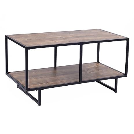 Amazon.com: Tangkula TV Stand/Coffee Table Entertainment Center ...