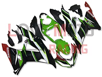 Amazon.com: LoveMoto Fairings for kawasaki ZX6R ZX-6R Ninja ...