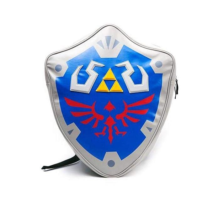 Amazon.com  Nintendo Zelda Shield 3D Backpack 16 x 19in  Clothing a5ef313f1c95