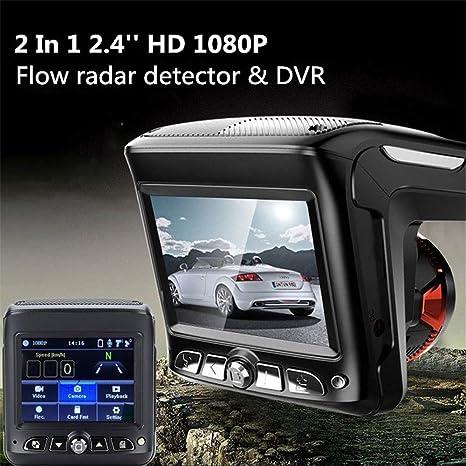 Amazon.com: Car DVR 2in1 HD 1080P Video Recorder Detector G-Sensor Loop Recording Dash Cam Radar(Ship from US) (Black): Health & Personal Care