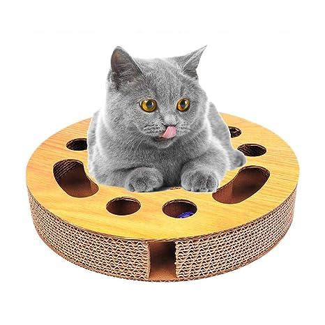 Singa-Z almohadilla rascadora para gatos, tabla de rascar redonda ...