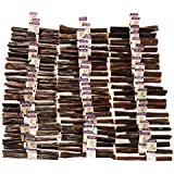 """Nature Gnaws Beef Jerky Sticks 5-6"""" (200 Count) - Bulk Wholesale with Labels"""
