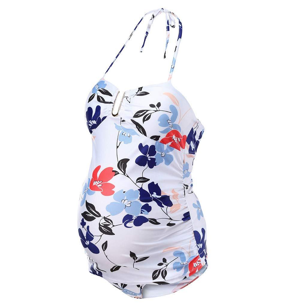 Subfamily Ba/ñadores para Embarazadas Premam/á Trajes de Ba/ño 1 Pieza Monokini Ropa Verano Maternidad Mujer,Traje De Ba/ñO para Mujeres Tankini