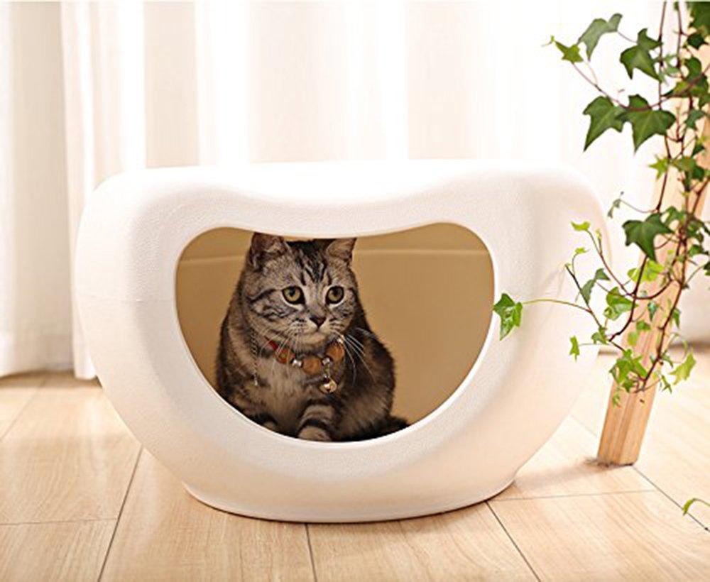 Pet casa portatile apertura gatto giocare posto posto posto letto