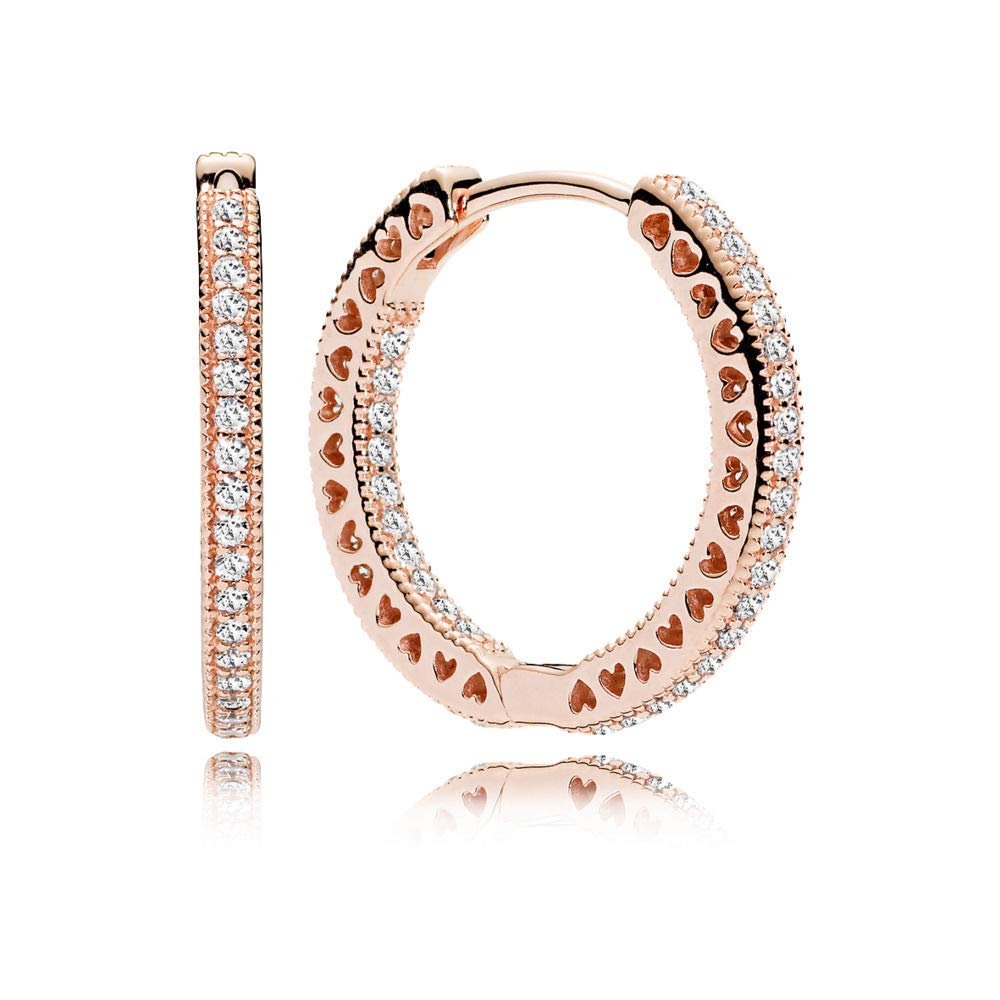 Pandora-Hearts-of-Pandora-Rose-Gold-Hoop-Earrings-with-Clear-CZ-286318CZ