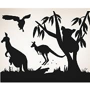 Vinyl Wall Decal Sticker Australian Animals OS_AA467m