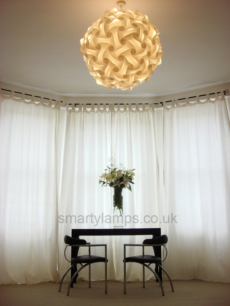 Extra large white ceiling pendant lampshade elektra l amazon extra large white ceiling pendant lampshade elektra l amazon lighting mozeypictures Gallery
