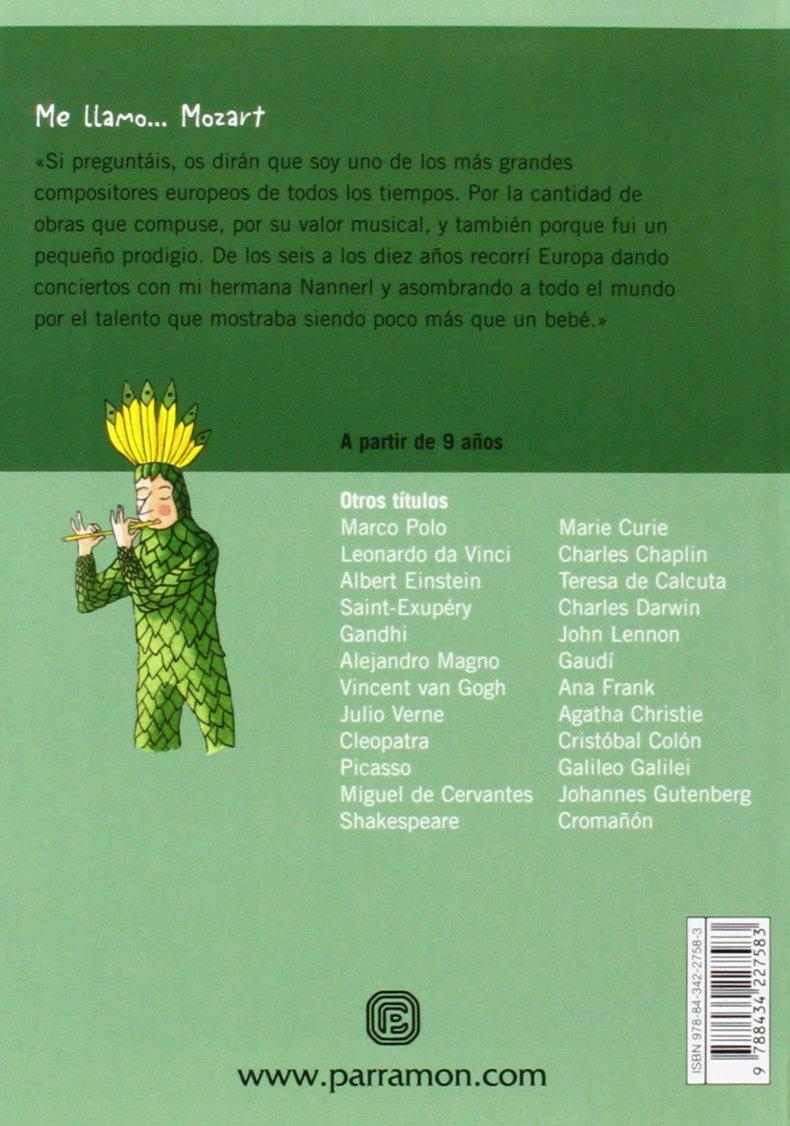 ME LLAMO MOZART: Amazon.es: Martí, Meritxell, Salomó, Xavier: Libros