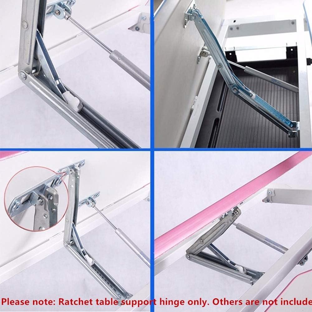 Support de Levage R/églable Arc de fonctionnement pour Lits Tables /à Dessin Support Pliable R/églable Couvercles de Bureau Tiberham Charni/ère de Verrouillage pour Table /à Dessin