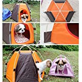 Best Dog Bed Kennel Washable Pet Supplies Portable Folding House Tent Indoor Outdoor Waterproof Camping Durable