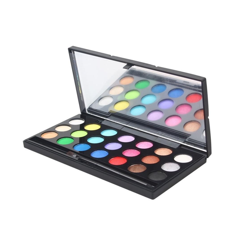 Malloom Ombre à Paupières 21 Couleurs Maquillage Cosmétique Shimmer Matte Palette Malloom-6549