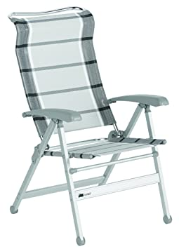 Camping De Dukdalf.Dukdalf Camping Chair Paso Doble Silver Anthracite Folding
