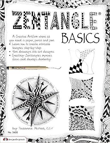 Zentangle Basics 3450 Suzanne McNeill CZT 9781574213270 Amazon Books