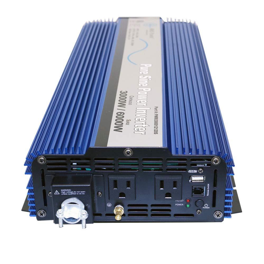 AIMS Power PWRI300012120SUL 3000 Watt Pure Sine Wave Power Inverter, ETL Listed by AIMS Power (Image #3)
