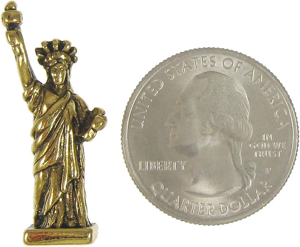Jim Clift Design Statue of Liberty Gold Lapel Pin