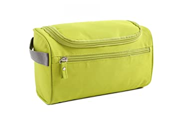 Amazon.com   Toiletry Bag Travel Toiletries Bag Sturdy Hanging Organizer  for Women Men Cosmetic Make up Bag Case (Green)   Beauty 4ec0a9efbc301