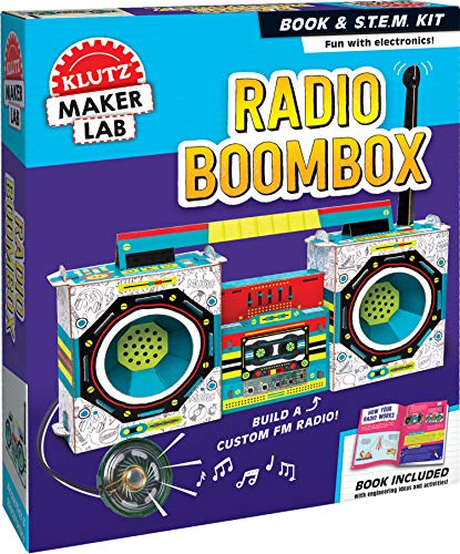KLUTZ Maker Lab Radio Boombox Now $8.33 (Was $24.99)