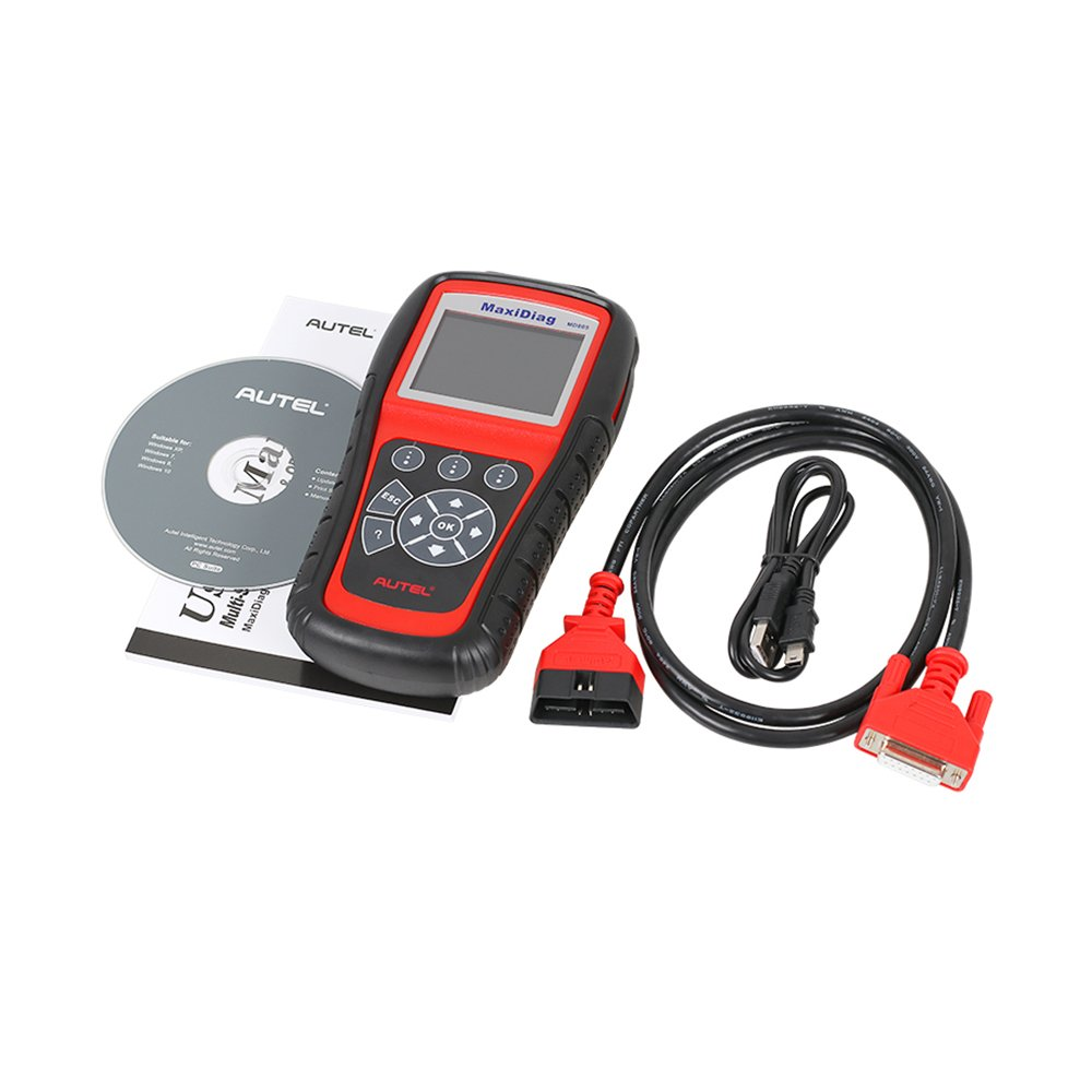 Autel MaxiDiag MD805 (Autel MD802)Scan tool All System Engine, Transmission, ABS, Airbag,EPB,OIL Service Reset & Electronic modules by Autel (Image #5)