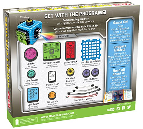 61KSu6kTSpL - SmartLab Toys Smart Circuits Games & Gadgets Electronics Lab