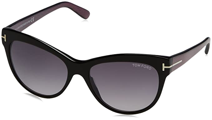 Tom Ford Sonnenbrille FT0430_05B (56 mm) Black, 56