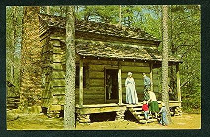 Callaway Gardens Pioneer Cabin Pine Mountain Georgia Postcard
