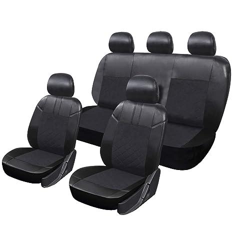 EUGAD Auto Sitzbez/üge Sitzbezug Schonbez/üge f/ür PKW ohne Seitenairbag 0018QCZT