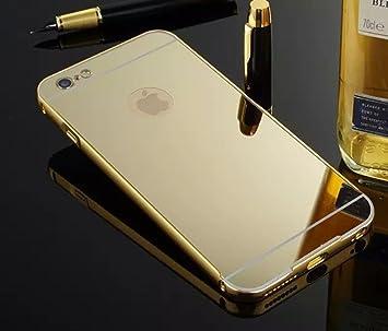 ef0df83773 KolorFish Mirror Luxury Ultra Thin Metal Bumper + PC: Amazon.in: Electronics