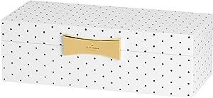 Kate Spade New York Garden Drive Spot Large Rectangular Jewelry Box by Lenox