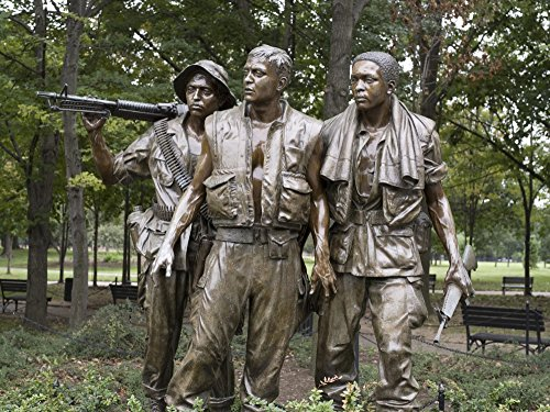 (Vietnam Memorial Soldiers by Frederick Hart One of the most visited monuments in Washington DC is Harts heroic bronze statue The Three Soldiers Vietnam Veterans Memorial dedicated by President Ronald)