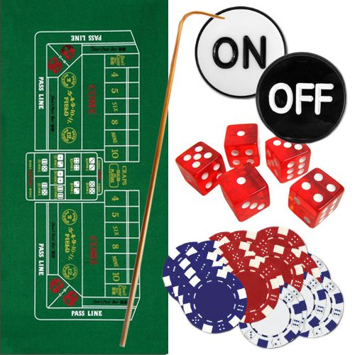 Brybelly Casino Style Craps Set -