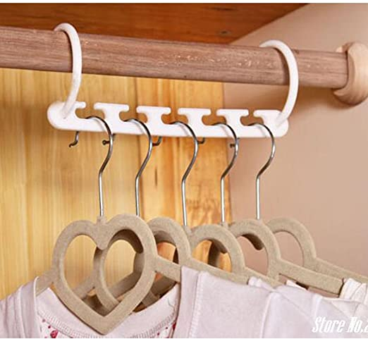 Wonder Space Saving Magic Hanger Clothing Rack With Hook Closet Organizer