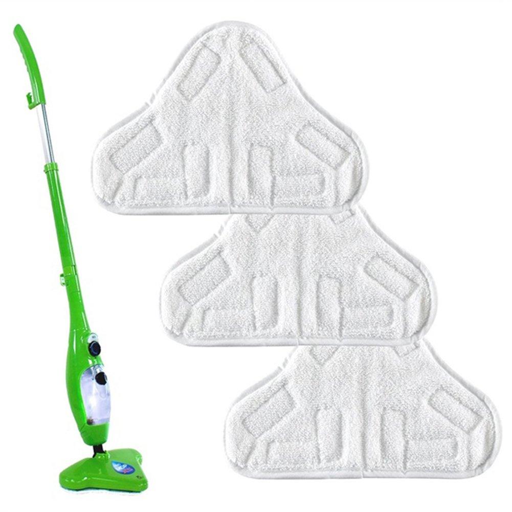 Juego de 8 Almohadillas de Microfibra para Limpieza de Suelos Home Holic