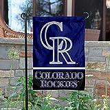 WinCraft Colorado Rockies Double Sided Garden Flag