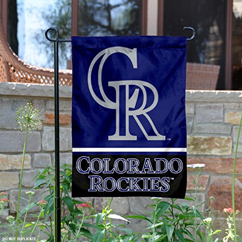 ble Sided Garden Flag (Colorado Rockies Garden)