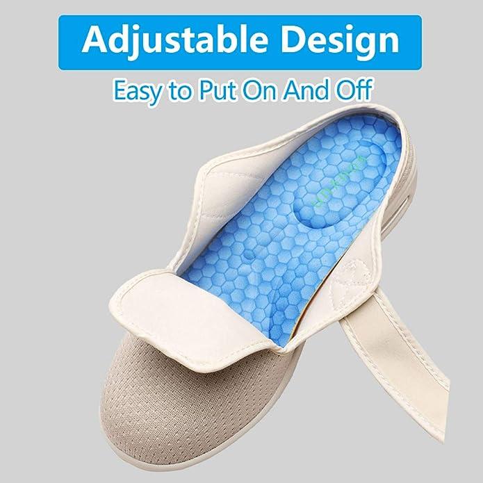 Bullen Orthopaedic Diabetic Sandal Slippers  Strap Healthcare Easy Slip On