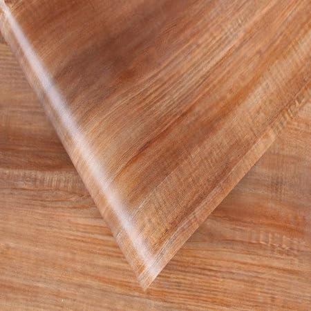 LZYMLG Grain de bois papier peint auto-adhésif restaurant ...