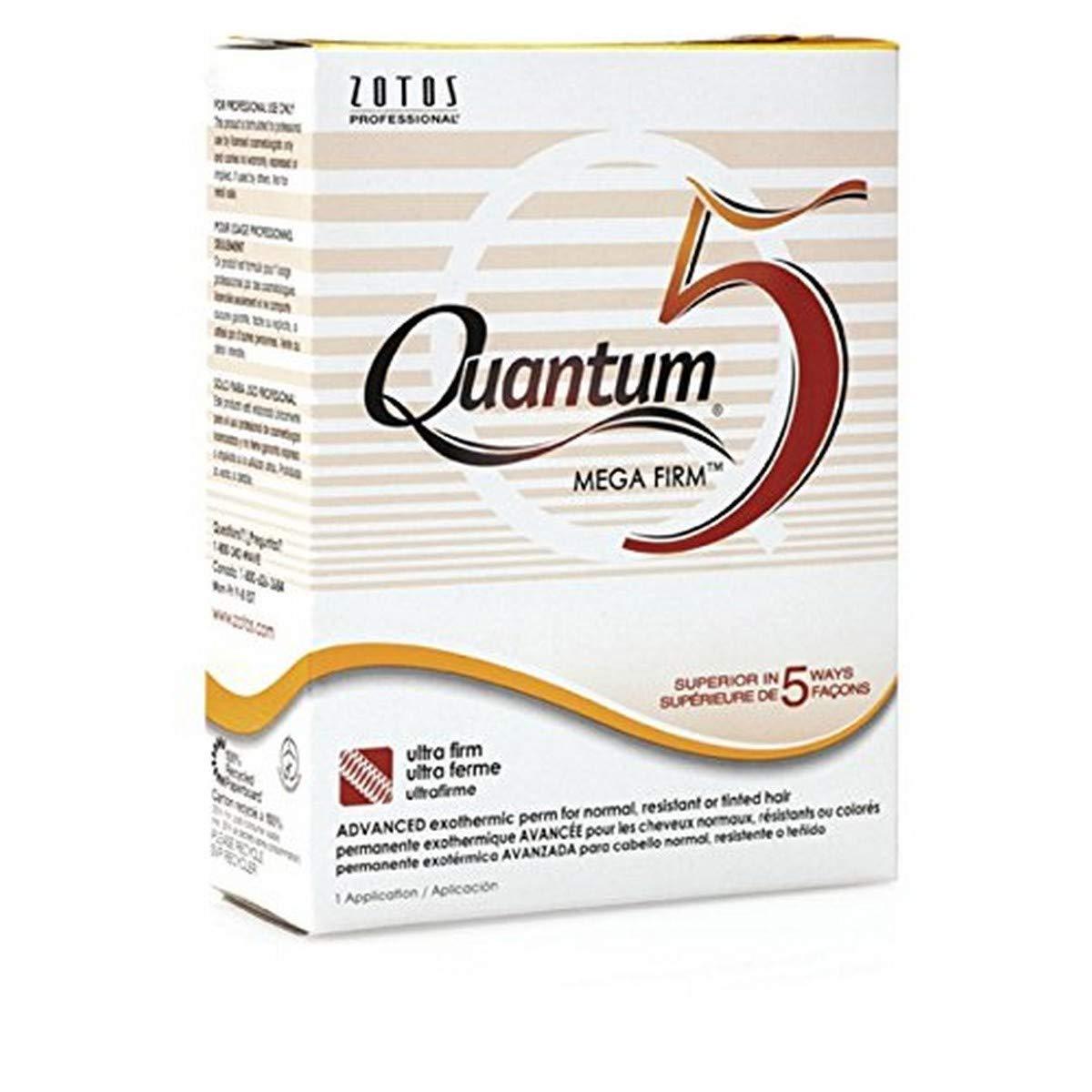 Zotos Quantum 5 Mega Firm Exothermic Perm for One Application