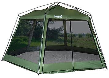 0a2ad2751f7 Eureka! Hex Screenhouse Utility Tent: Amazon.co.uk: Sports & Outdoors