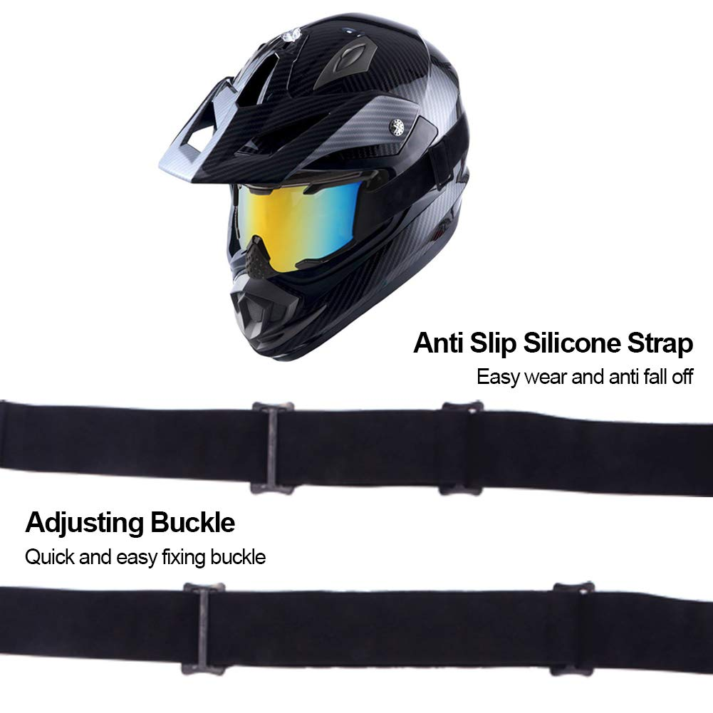 4-FQ PU Resin Windproof Dustproof CRG Sports Scratch Resistant Motocross Dirt Bike Wrap Goggles Ski Goggles Protective Safety Glasses