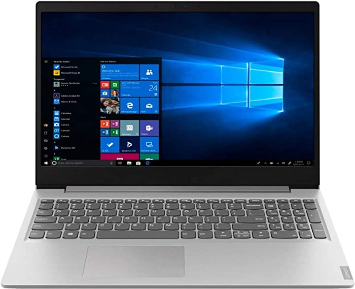 "2019 Lenovo S145 15.6"" FHD Premium Laptop Computer, 8th Gen Intel Quad-Core i7-8565U Up to 4.6GHz, 12GB DDR4 RAM, 256GB SSD, 802.11ac WiFi, Bluetooth, USB 3.0, HDMI, Gray, Windows 10 Home"