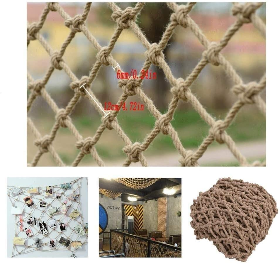 TorchJPA Nylon Net Outdoor White Rope Net Multi Functional and Multi-Purpose Rope Protection Net Bird Net Staircase Home Decoration Family Protection Pet Protection Cargo Protection Safet